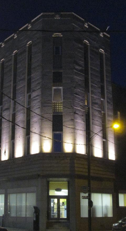 Rotech LED - Réalisation - Éclairage de bâtisse