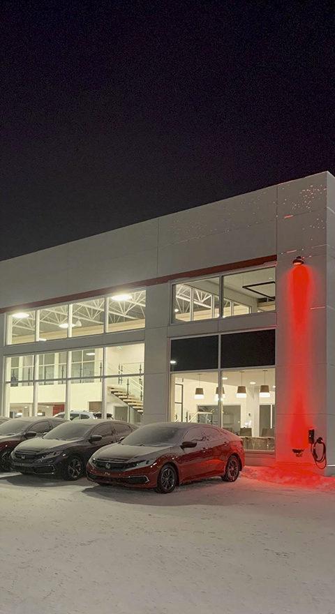 Rotech LED - Réalisations - Division Rotech Architechturale